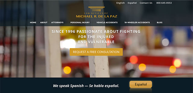 Law Offices of Michael R. De La Paz